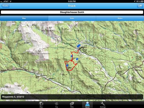GA USGS Map