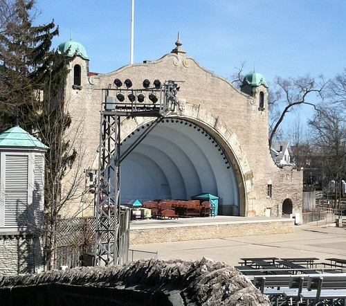 Amphitheater at the Toledo Zoo