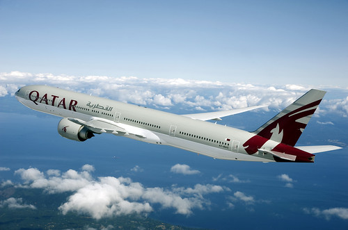Qatar in the air