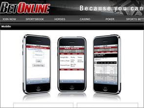 Bet Online Sportsbook Lobby
