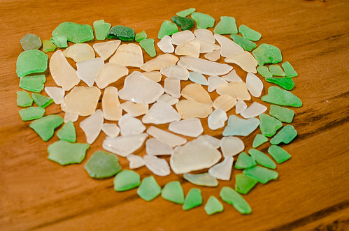 I heart seaglass