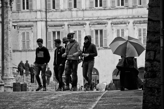 Perugia - People Wandering