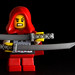 Little Red Riding Hooded Ninja by powerpig