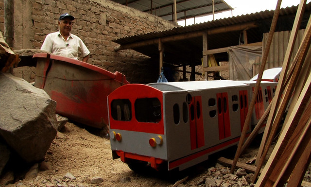 Tren de juguete, de Romulo Franco