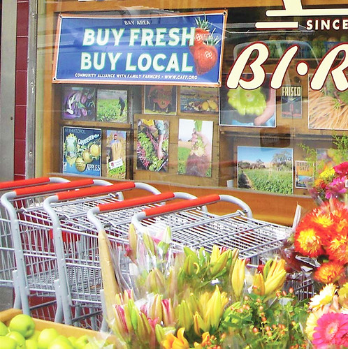 Bi-Rite Market in San Francisco.  Wholesale buyers like Bi-Rite see value in marketing local products.  Our study found that marketing to regional preferences helps farmers get a better price for their products.