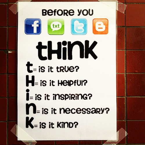 THINK before you