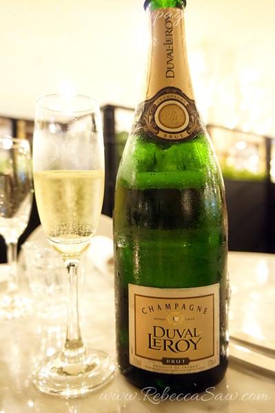 Duval-Leroy champagne, Bistro 42 Bangsar-004