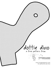 dottie dino pattern 1 of 2