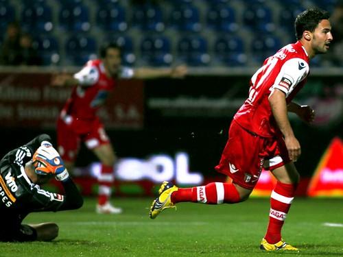 Helder Barbosa (Braga) marca ao Feirense