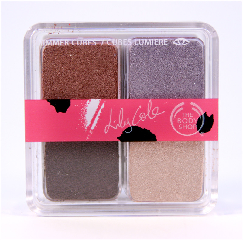 tbs lily cole shimmer cubes