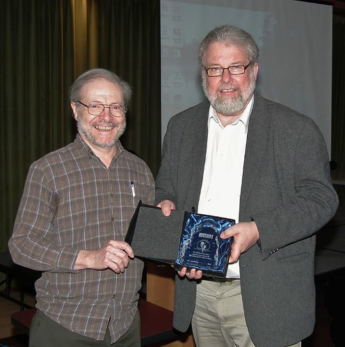 Bill Blakie receives Prairie Crocus Award