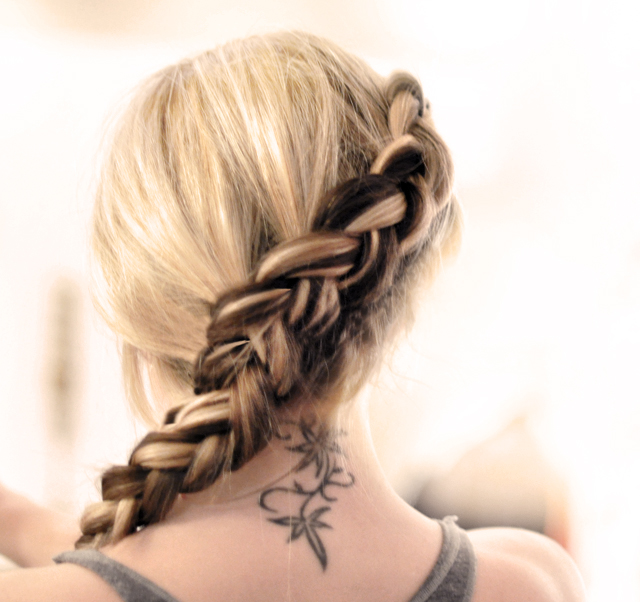 the Hunger Games French Braid, hunger games braid, katniss braid, french braid, braided hairstyles, hair, hair tutorials, braids, braided hair styles