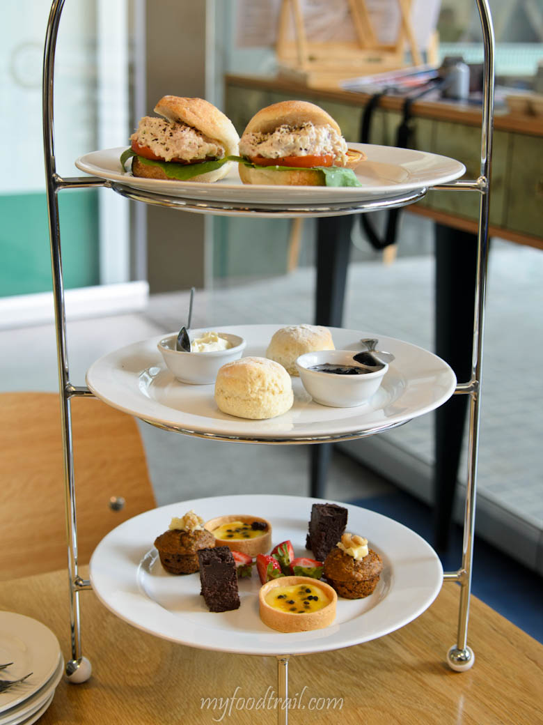 The Reading Room Cafe - 3 tiered High Tea platter