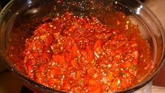 condiment, vegetable, tomato sauce, tomato, food, dish, cuisine,