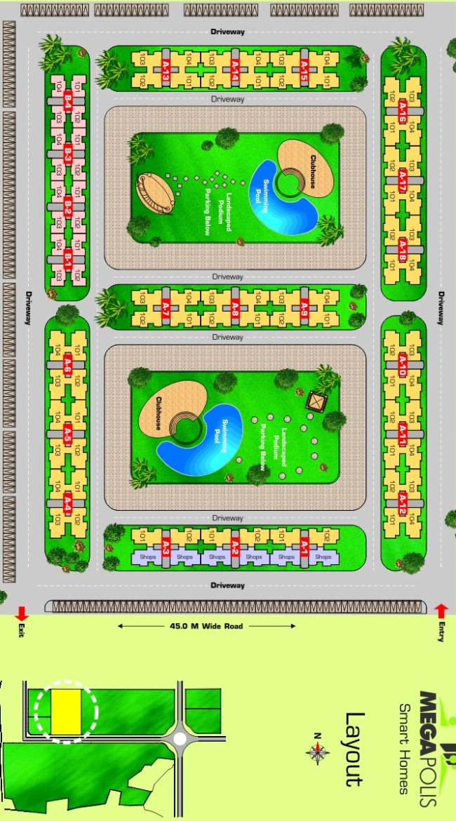 Sparklet - Megapolis smart Homes 1 Layout Plan
