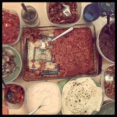 Dinner devoured