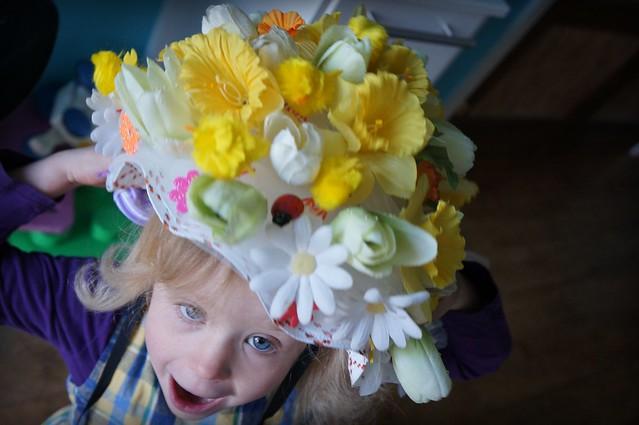 Elsie's Easter Bonnet by Dave Haygarth