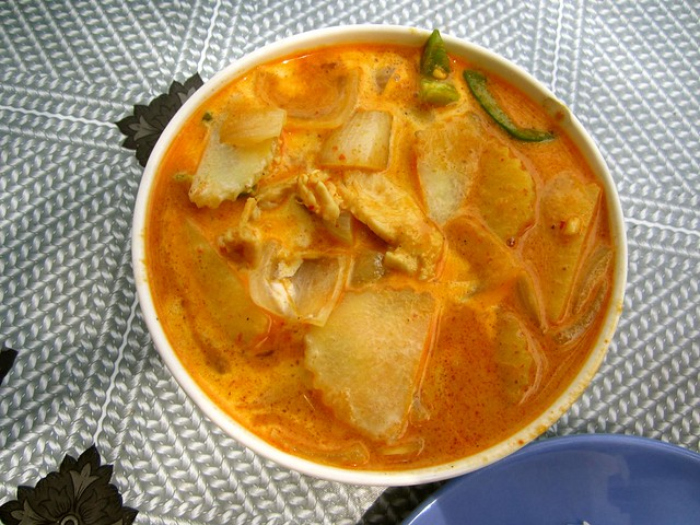 penaeng curry in thailand