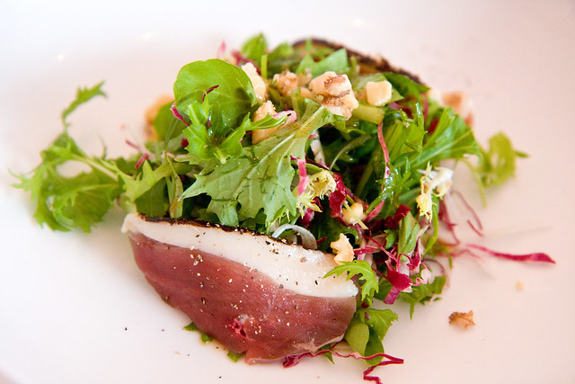 Duck prosciutto salad, 1 or 8
