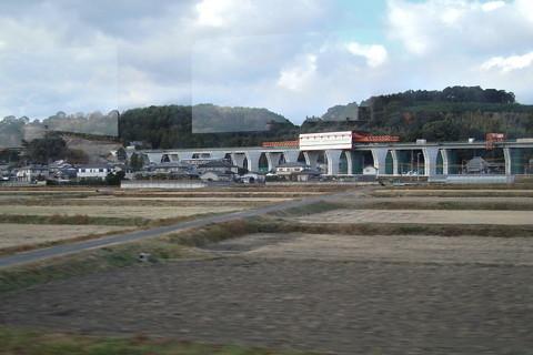 新東名高速部分開通(天竜浜名湖鉄道沿線)