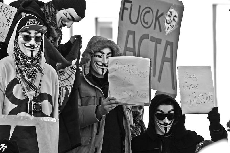 Göteborgsprotest mot ACTA
