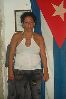 1 Niurka Luque Álvarez luego de ser liberada el 10 de marzo