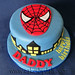 Spiderman Cake by Cakes by Dali