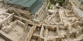 Изображение Мусорные ворота. wall israel western archeologicalpark dunggate