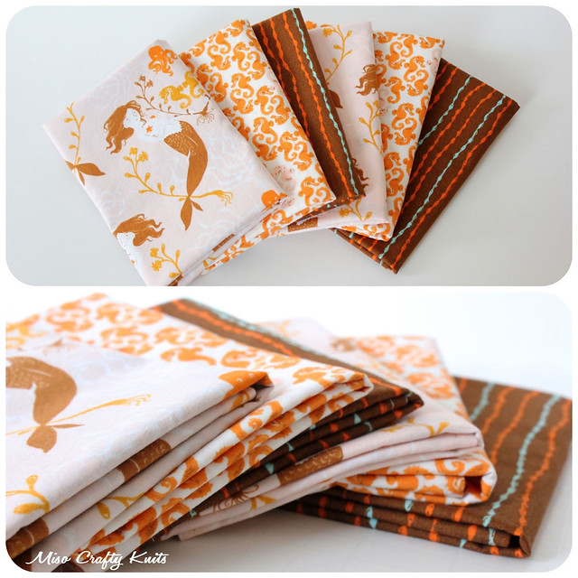 Mendocino Handkerchiefs - Folded Collage