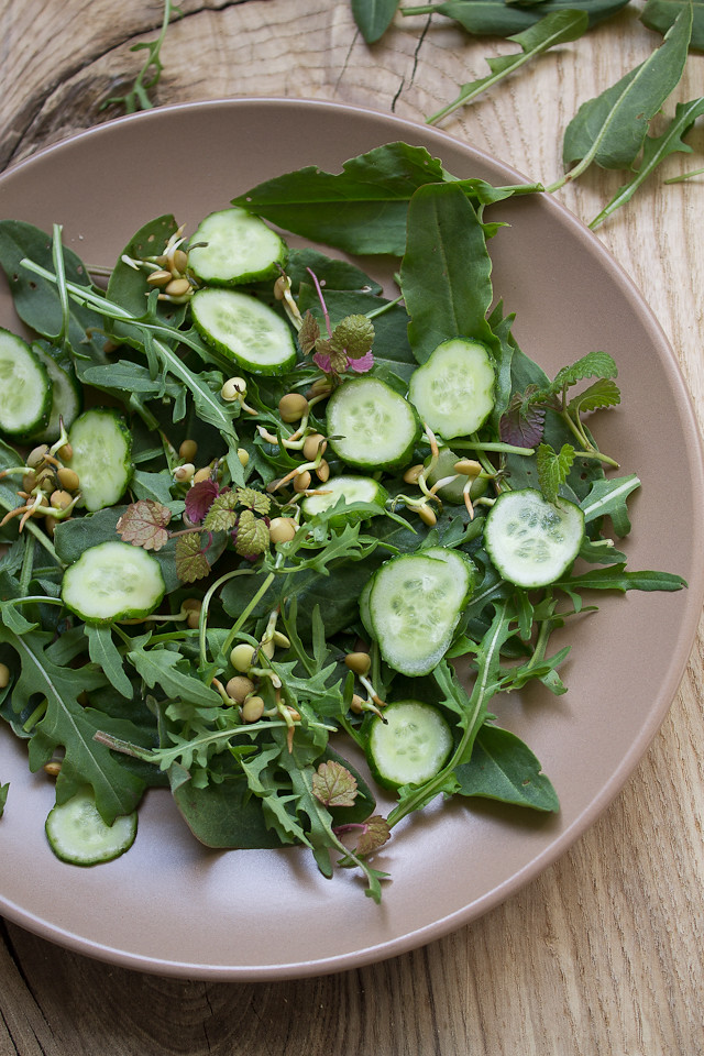 tart green salad
