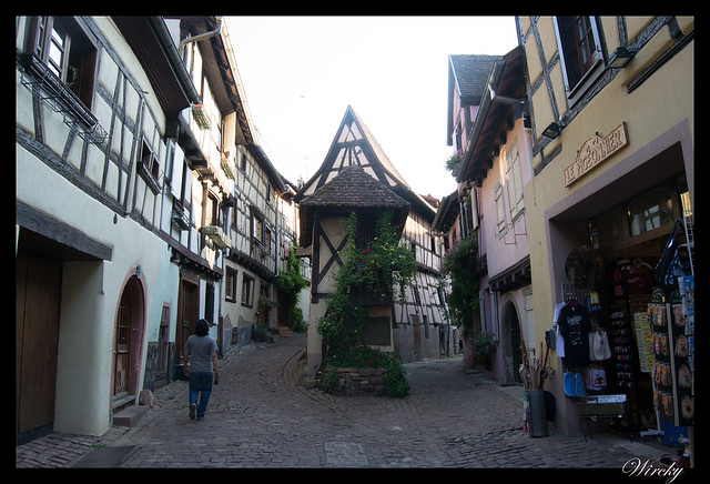 Un tranquilo paseo por Eguisheim