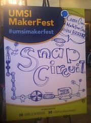 #UMSIMakerfest !!!