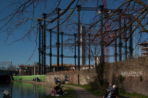 Gasometer as Art