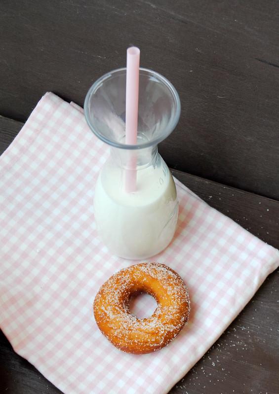 Sourdough Doughnuts with Yogurt