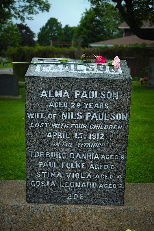 Titanic Victim, Alma Paulson