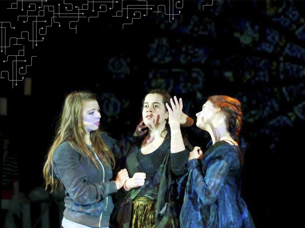 Letícia Corrêa em Macbeth, IT Sligo, Irlanda