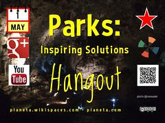 May 1: Parks Inspiring Solutions Hangout