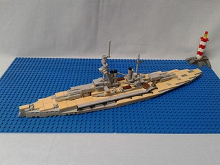 German battleship Bayern