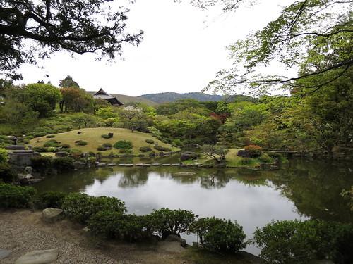 Isuen Garden - jardin arrière