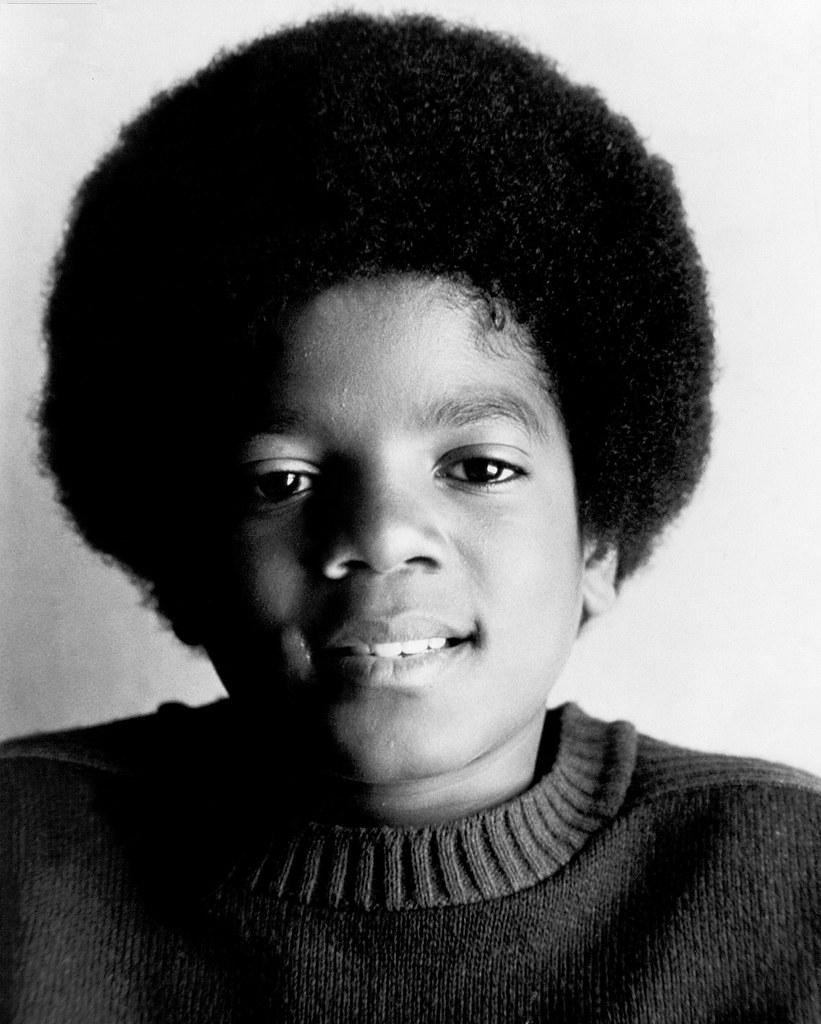 Причёска Майкла Джексона в детстве