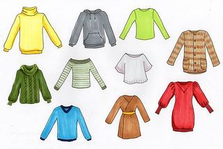 服を減らせば、少数精鋭 by pixabay