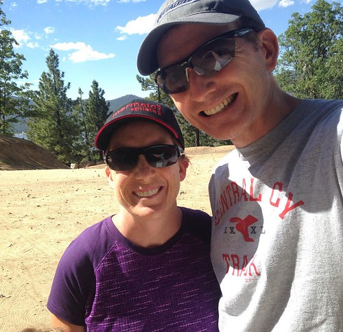 Hiking Big Bear. Family hiking means everyday shoes. #bigbear #hiking