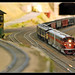 Leading the world's longest model train, at Chi-Town