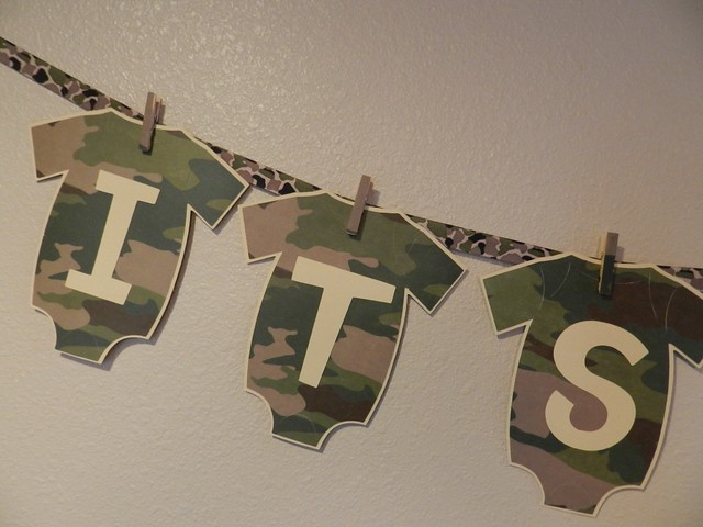 baby shower banner its a boy camo explore sweet sambolina