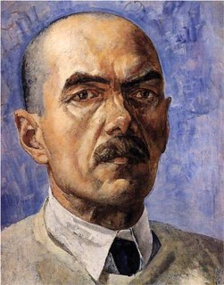Petrov-Vodkin, Kuzma (1878-1939) - 1929 Self-Portrait