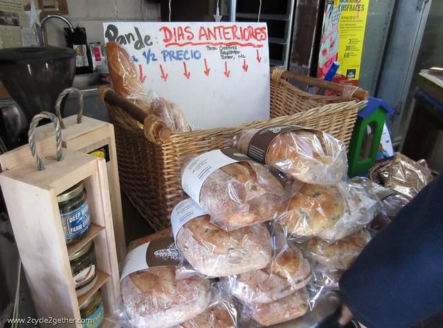 Day old bread 1/2 price, Hogaza Hogaza