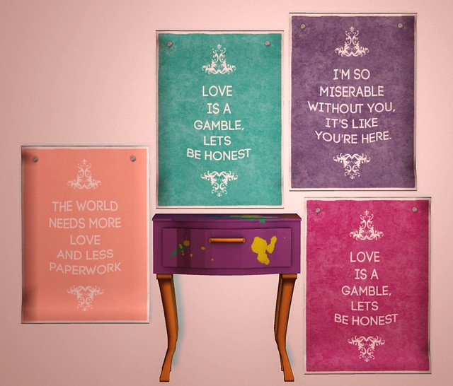 Starstruck - Romance posters; Sprayed Out Table