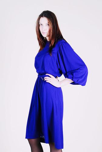Теплое трикотажное платье  быстро
