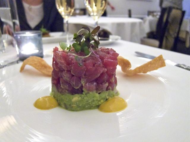 Tuna Tartare from Hawaii with Avocado, Yuzu, Radish & Mald…   Flickr ...