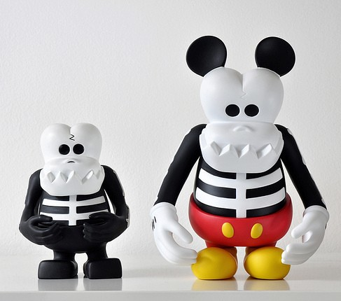 Disney x Bounty Hunter x MINDstyle Skull Kun Mickey